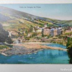 Postales: CANGAS DE TINEO. VISTA DE CANGAS DEL TINEO. ASTURIAS. POSTAL DE PRINCIPIOS DEL SIGLO XX. (CANGAS DEL. Lote 68759753