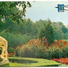 Postales: GIJON PARQUE DE ISABEL LA CATOLICA NO CIRCULADA PERGAMINO. Lote 69295513