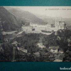 Postales: POSTAL - ESPAÑA - ASTURIAS - 21 COVADONGA - VISTA GENERAL - COLEC. V. ERO - NC - AÑO 1915. Lote 71857011