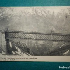 Postales: POSTAL - ESPAÑA - ASTURIAS - PUERTO DE PAJARES - VIADUCTO DE MATARREDONA - HAUSER Y MENET - 1922. Lote 71858215