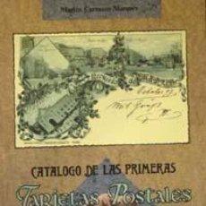 Postales: EL CATÁLOGO DE LAS 1º TARJETAS POSTALES DE ESPAÑA IMPRESAS POR HAUSER Y MENET, 1892-1900.. Lote 72246379