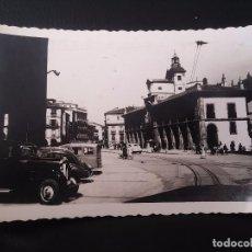 Postales: FOTO POSTAL DE AVILES, N. 14, PLAZA DE ESPAÑA, ED. A. NUÑEZ, NO CIRCULADA, ESCRITA.. Lote 72697639