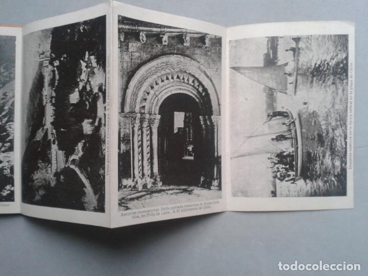 ESTUCHE DESPLEGABLE TIPO FUELLE DE 12 VISTAS ANTIGUAS DE GIJÓN. (Postales - España - Asturias Antigua (hasta 1.939))