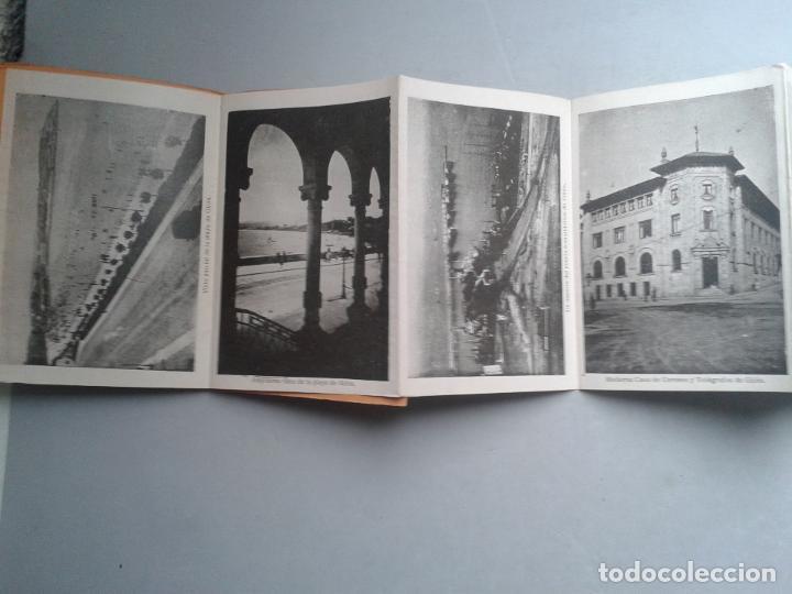 Postales: Estuche Desplegable Tipo Fuelle de 12 vistas antiguas de Gijón. - Foto 3 - 73312643