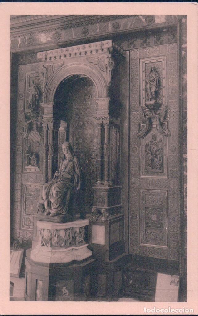 COVADONGA (ASTURIAS) EL TRIPTICO DE LA VIRGEN - D.E.O. S.A. - FOTO. MERÁS - (Postales - España - Asturias Antigua (hasta 1.939))