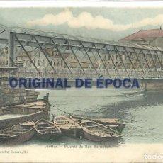 Postales: (PS-51023)POSTAL DE AVILES-PUENTE DE SAN SEBASTIAN. Lote 73755979