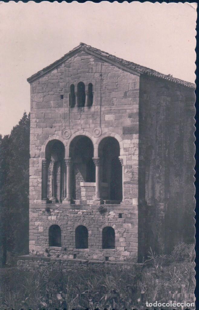 POSTAL OVIEDO - SANTA MARÍA DEL NARANCO - EDIC. GARCÍA GARRABELLA 34 - CIRCULADA (Postales - España - Asturias Antigua (hasta 1.939))