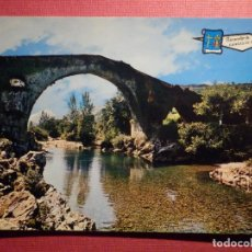 Postales: POSTAL - ESPAÑA - ASTURIAS - CANGAS DE ONIS - PUENTE ROMANO - ED. PERGAMINNO. Lote 75701571