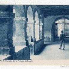 Postales: COVADONGA. CLAUSTRO DE LA ANTIGUA COLEGIATA.. Lote 76947577