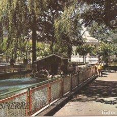 Postales: POSTAL. SAMA DE LANGREO, PARQUE DORADO, ESCRITA. Lote 77361505