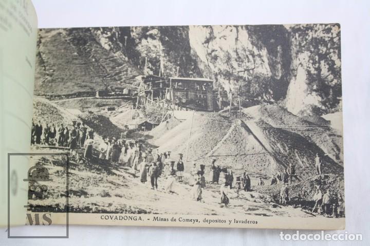 Postales: Taco de 12 Postales - Asturias. Recuerdo de Covadonga. 1ª Serie - El Barato Bazar, Cangas de Onís - Foto 2 - 82008928
