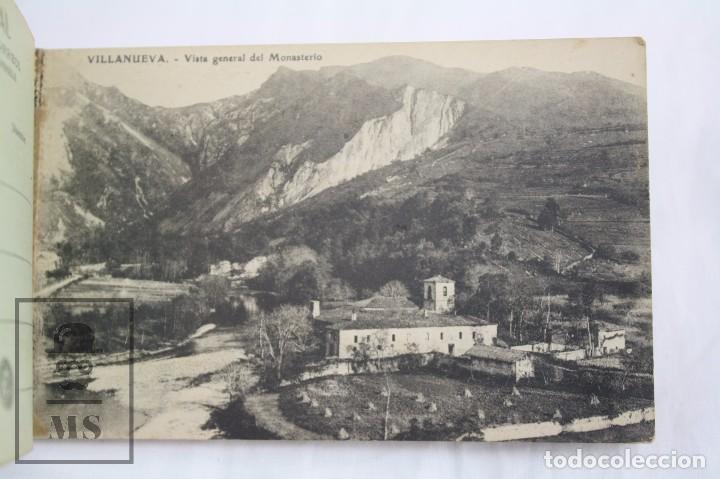 Postales: Taco de 12 Postales - Asturias. Recuerdo de Covadonga. 1ª Serie - El Barato Bazar, Cangas de Onís - Foto 5 - 82008928