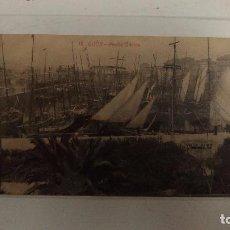 Postales: GIJÓN. MUELLE ORIENTE. 1917. ED.:F. MATOS. Lote 83092584