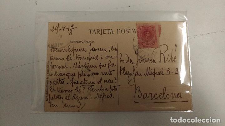 Postales: Gijón. Muelle Oriente. 1917. ED.:F. Matos - Foto 2 - 83092584