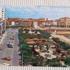 Postales: CASTRO URDIALES. (CANTABRIA).AVDA. GENERALISIMO Y PARQUE AMESTOY. POSTAL GARCIA GARRABELLA Y CÍA.. Lote 83843636