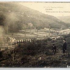 Postales: POSTAL ASTURIAS - TRUBIA, VISTA GENERAL DE LA FABRICA DE ARMAS - FOTOTIPIA DE HAUSER Y MENET. Lote 84455056