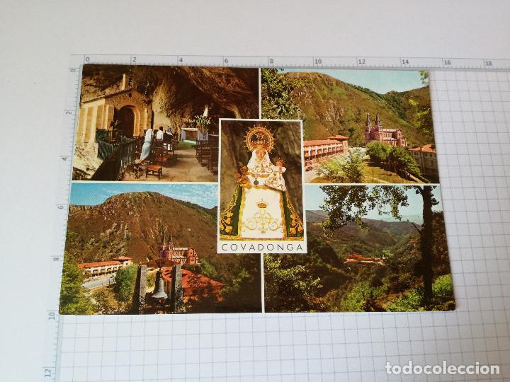 POSTAL Nº 21 - ASTURIAS - COVADONGA, BASILICA - ED. GARCIA 1968 (Postales - España - Asturias Moderna (desde 1.940))