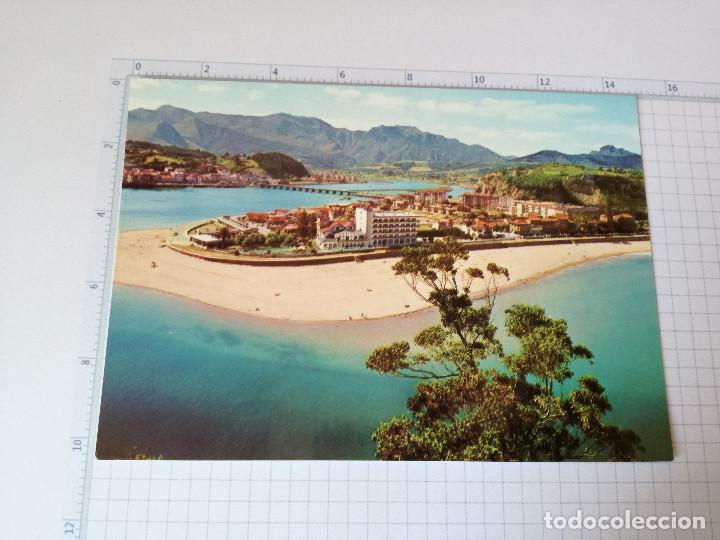 POSTAL Nº 6 - ASTURIAS - RIBADESELLA, VISTA PARCIAL - ED. ALARDE 1971 (Postales - España - Asturias Moderna (desde 1.940))