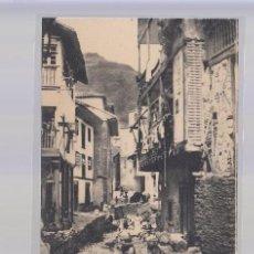 Postales: CUDILLERO (ASTURIAS).- UNA CALLE DE CUDILLERO. Lote 87068372