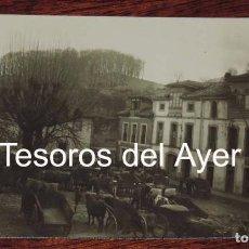Postales: FOTO POSTAL DE NAVA, ASTURIAS, MERCADO DE GANADO, NO CIRCULADA.. Lote 87290928