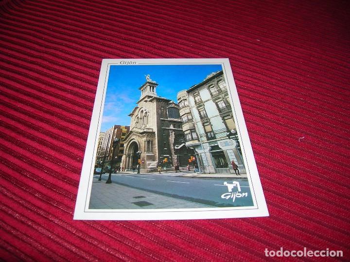 POSTAL DE GIJÓN.LA IGLESIONA. (Postales - España - Asturias Moderna (desde 1.940))
