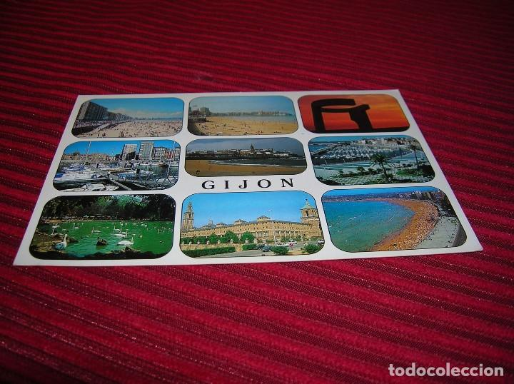 POSTAL DE GIJÓN (Postales - España - Asturias Moderna (desde 1.940))