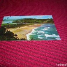 Postales: ANTIGUA POSTAL DE VILLAVICIOSA.PLAYA DE RODILES.ASTURIAS . Lote 90202740