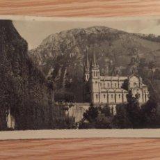 Postales: TARJETA POSTAL COVADONGA ASTURIAS 1959. Lote 90589912