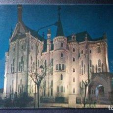 Postales: ASTORGA - LEÓN - PALACIO EPISCOPAL GAUDÍ 64. Lote 91520765