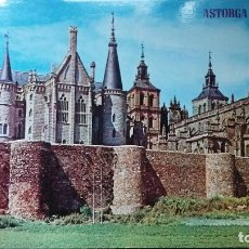Postales: ASTORGA - LEÓN - PALACIO DE GAUDÍ - CATEDRAL Y MURALLAS 342. Lote 91520900