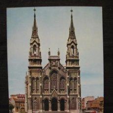 Postales: POSTAL AVILES - IGLESIA DE SANTO TOMAS DE CANTERBURY - CIRCULADA.. Lote 92745050