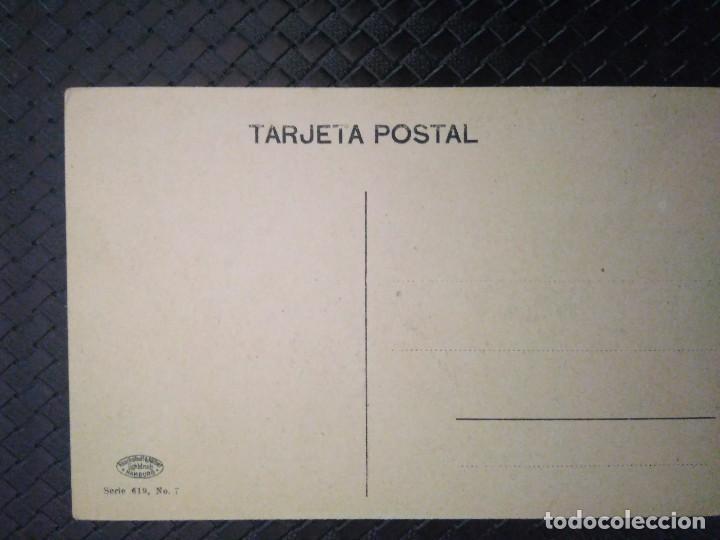 Postales: COSTUMBRES DEL MUELLE. GIJÓN. NO CIRCULADA. - Foto 2 - 93170415