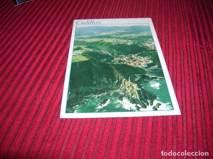 MUY BONITA POSTAL DE CUDILLERO. (Postales - España - Asturias Moderna (desde 1.940))