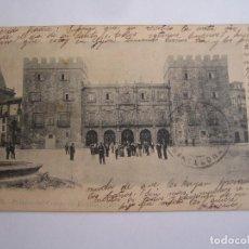 Postales: GIJON PALACIO DEL CONDE DE REVILLAGIGEDO POSTAL ORIGINAL ANTIGUA CIRCULADA. Lote 96496839