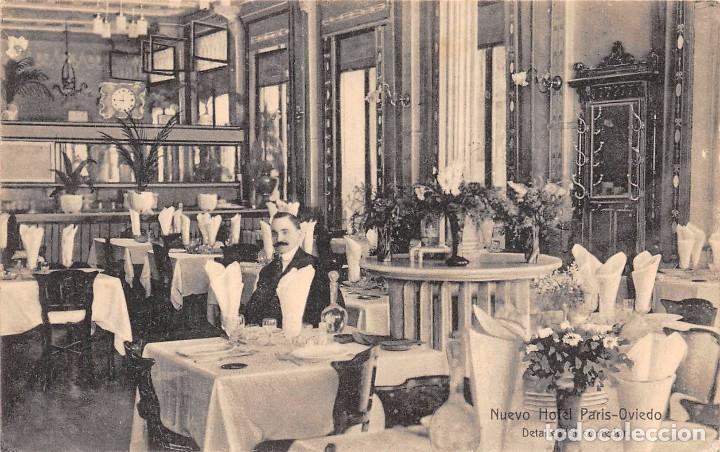 oviedo.- nuevo hotel paris .- detalle del comed - Comprar Postales ...