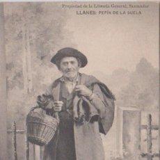 Postales: LLANES (ASTURIAS) - PEPIN DE LA SUELA. Lote 97014239