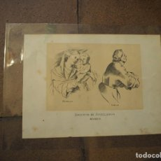 Postales: INSTITUTO DE JOVELLANOS. MUSEO. GIJON. ASTURIAS. AÑO 1884. GRABADO. Lote 97117803
