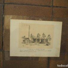 Postales: INTERIOR DE LA FÁBRICA DE GAS. GIJON. ASTURIAS. AÑO 1884. GRABADO. Lote 97119707