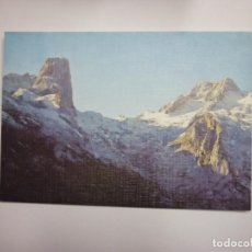 Postales: POSTAL DE PICOS DE EUROPA. MACIZO CENTRAL. NARANJO DE BULNES. Nº 38. EDICIONES SICILIA. TDKP2. Lote 97349087