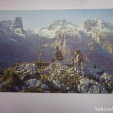 Postales: POSTAL DE PICOS DE EUROPA. PANORAMICA DEL MACIZO CENTRAL. PEÑA VIEJA Nº 34. EDICIONES SICILIA. TDKP2. Lote 97349195