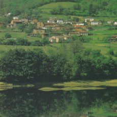 Cartes Postales: POSTAL SANTIANES. TINEO - COMARCA VAQUEIRA (POSTALON, GRAN FORMATO). Lote 98162759