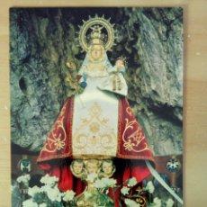 Postales: N°52 COVADONGA, LA VIRGEN. ALARDE.. Lote 98635987