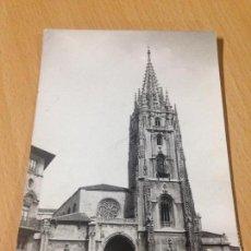 Postales: ANTIGUA POSTAL OVIEDO CATEDRAL. Lote 99170295