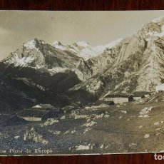 Postales: FOTO POSTAL DE SOTRES (ASTURIAS), 117, SOTRES Y LOS PICOS DE EUROPA, SIN CIRCULAR. Lote 99427483