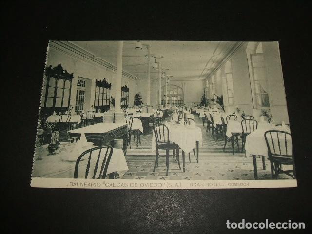 CALDAS DE OVIEDO ASTURIAS GRAN HOTEL COMEDOR