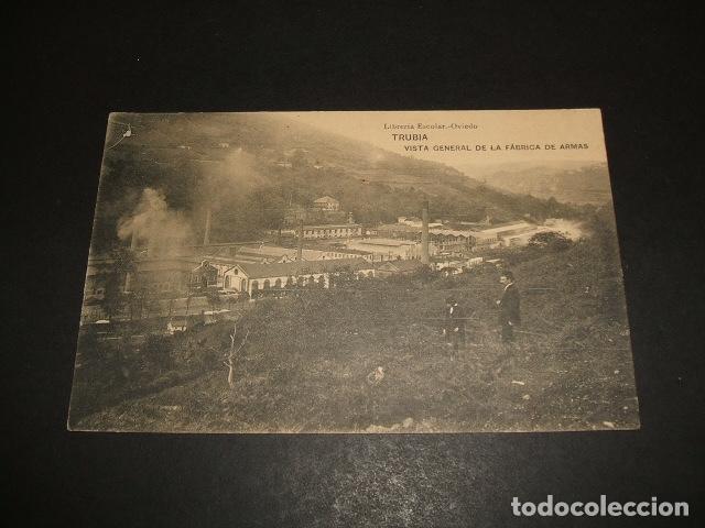 TRUBIA ASTURIAS VISTA GENERAL DE LA FABRICA DE ARMAS (Postales - España - Asturias Antigua (hasta 1.939))