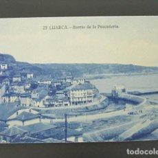 Postales: POSTAL ASTURIAS. LUARCA. BARRIO DE LA PESCADERÍA. . Lote 99956495