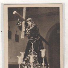 Postales: LUARCA. IMAGEN DEL BUEN JESÚS NAZARENO QUE SE VENERA EN LA CAPILLA DE LA ATALAYA.. Lote 100079355