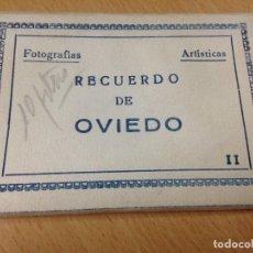 Postales: RECUERDO DE OVIEDO ASTURIAS FOTOGRAFIAS ARTISTICAS EDICIONES ARRIBAS. Lote 101048875
