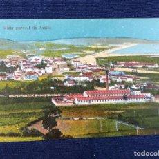 Postales: POSTAL VISTA GENERAL DE AVILES EN COLOR SIN CIRCULAR SIN DATOS PPIOS S XX . Lote 101148435